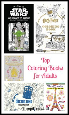 Top Adult Coloring Books for Relaxation, Art Therapy and Just Plain Fun