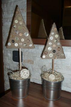 knoflíkové stromečky