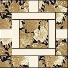 Quilt Blocks For Beginners | level confident beginner finished block size 14 x 14 free quilt block ...