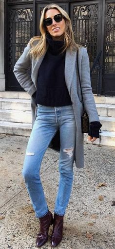 45 Insane Winter Outfits You Will Love   028  Winter  Outfits Χειμερινά  Σύνολα 8e4c2442bee