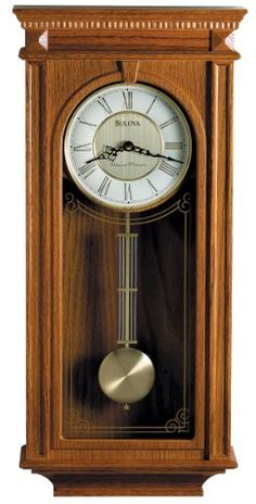 Special Offers - Bulova C4419 Manorcourt Clock Golden Oak Finish - In stock & Free Shipping. You can save more money! Check It (April 28 2016 at 04:36AM) >> http://wallclockusa.net/bulova-c4419-manorcourt-clock-golden-oak-finish/