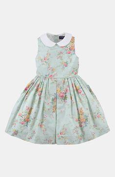 a6d9c84de26 Free shipping and returns on Ralph Lauren Floral Dress (Toddler) at  Nordstrom.com