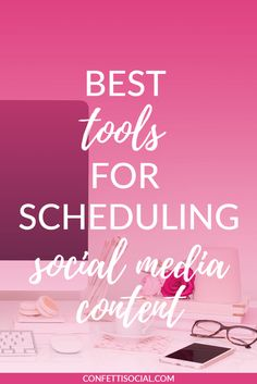 Are you strapped for time and always forgetting to post your blog posts on social media at the optimal time? Check out the best tools for scheduling social media content today on Confetti Social.
