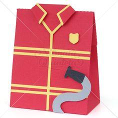Fireman Uniform Box – Nilmara Quintela Paper Designer