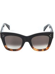CELINE 'Cathrin' sunglasses #eyewear #celine #sunny #covetme