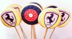 The star of the candy buffet was the Formula One Ferrari Car CAKE! A ...