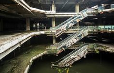 ruinationstation:  Abandoned mall in Bangkok.
