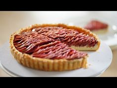 Vanilla Custard Apple Pie – Bruno Albouze - YouTube Custard Pudding, Vanilla Custard, Apple Tart Recipe, Apple Pie, Biscuits, Apple Cheesecake, Apples And Cheese, Tart Shells, Puff Pastry Recipes