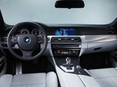 BMW M5 Concept Interior