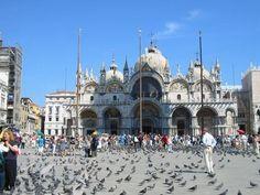 Piazza San Marco (aka Saint Mark's Square) in Venice, Italy