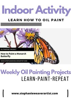 Creatives, if you looking for art inspiration, learn art oil painting techniques this is the right place.  Stephanie Weaver creates weekly oil painting video tutorials so that you can learn oil painting techniques in fun, practical and purposeful oil painting exercises.   This oil painting online class covers:  - complementary colors - fat over thin - glazing - scumbling  And more.   Get creating today! Oil Painting | How to paint | learn to paint | Online art classes | painting classes… Oil Painting For Beginners, Oil Painting Techniques, Painting Classes, Painting Videos, Online Painting, Oil Painting Supplies, Learn Art, Learn To Paint, Online Art Classes