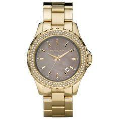 Michael Kors Runway Brown Mother of Pearl Ladies Watch MK5452