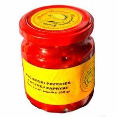 Przecier paprykowy ostry, bez konserwantów (200 g) - Manufaktura Smaku