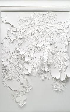 Jolynn Krystosek, Untitled, 2007 paper 108 x 73 inch