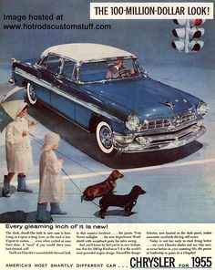 1955 Chrysler New Yorker Deluxe Four Door Sedan