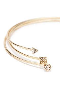 Rhinestone Bracelet Cuff Set | Forever 21 #f21accessorize