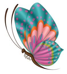 """Photo from album """"Sun Sea& Beach"""" on Yandex. Butterfly Clip Art, Butterfly Fairy, Butterfly Kisses, Butterfly Wallpaper, Stencil Painting, Fabric Painting, Paper Crafts, Diy Crafts, Mural Art"""