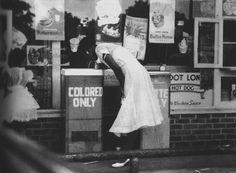 1960's. Racial segregation in U.S.
