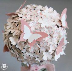 Stampin' Up! Blütenkugel, Papierstrauß Itty Bitty Schmetterlinge