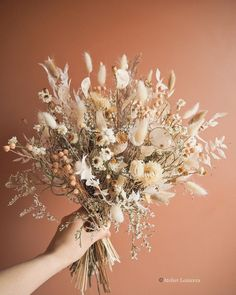 Dried Flowers Bouquet Unique Wedding Ideas 2019 Small Dried Flower Arrangements Dried And Preserved Flowers Dried Flower Bouquet, Dried Flowers, Floral Wedding, Wedding Bouquets, Boho Wedding, Wedding Ideas, Bouquet Champetre, Diy Fleur, Dried Flower Arrangements