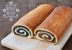 Beigli - Hungarian Poppy Seed And Walnut Rolls Royalty Free Stock Images - Image: 7630459 Dog Cake Recipes, Dog Food Recipes, Cooking Recipes, No Bake Desserts, Dessert Recipes, Sweets Online, Best Cookbooks, Choux Pastry, Easy Cake Decorating