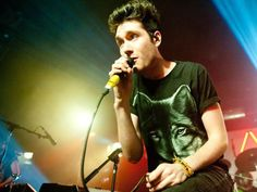"""If a job advert were to exist for the role of pop star, it would read something like this: """"Candidates must be loud, attention-seeking, good looking and be able to deliver tunes."""" Dan Smith, the creative mastermind behind indie-flavoured pop band Bastille, who are currently at No 1 in the album chart with their debut Bad Blood, certainly has the tunes. And he has the look – a distinctive towering quiff of hair and the quintessential skinny jeans – but as far as chart-topping pop stars go…"""