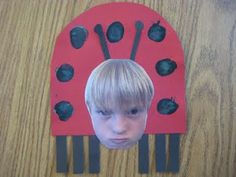 Get buggy and grumpy! Craft to go with Very Grouchy Ladybug