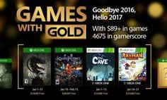 Xbox Live Gold : les jeux gratuits du mois de janvier 2017