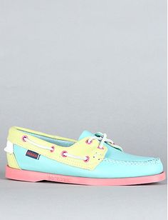 The Maine Spinnaker Shoe in NEON