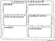 Worksheets Fairy Tale Worksheets fairies coloring and aladdin on pinterest elements of fairy tales