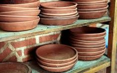 Image result for platos de barro
