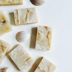 20 Handmade Handcut Almond Soap with Honey Shea by KayaSoaps