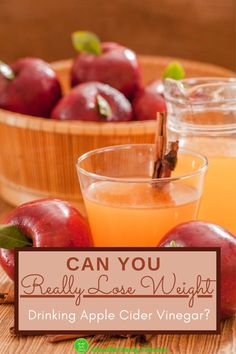 Can You Really Lose Weight Drinking Apple Cider Vinegar? Research shows that the best way to lose weight with apple cider vinegar is to consume it just before you eat a carb-rich meal. Apple cider vinegar can definitely help you to lose weight and in this article, we take a closer look at the research behind apple cider vinegar for weight loss. #applecidervinegar #applecidervinegarforweightloss #homemadeapplecidervinegar #applecidervinegartoloseweight #applecidervinegarrecipes Taking Apple Cider Vinegar, Homemade Apple Cider Vinegar, Cider Vinegar Weightloss, Canned Apples, Lose Weight, Weight Loss, Closer, Drinking, Healthy Lifestyle