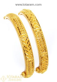 Totaram Jewelers Online Indian Gold Jewelry store to buy Gold Jewellery and Diamond Jewelry. Buy Indian Gold Jewellery like Gold Chains, Gold Pendants, Gold Rings, Gold bangles, Gold Kada Dubai Gold Bangles, Gold Bangles For Women, Gold Bangles Design, Gold Earrings Designs, Gold Jewellery Design, Designer Bangles, Gold Bracelets, Antique Jewellery, Real Gold Jewelry