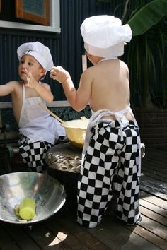 Children's Chef Costume by dressups74 on Etsy, 39.50usd