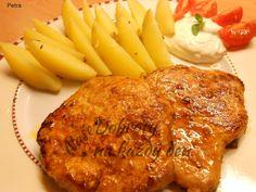 Recept Marinovaná kotleta - Naše Dobroty na každý den Pork Tenderloin Recipes, Toast, Food And Drink, Turkey, Barbecue, Chicken, Cooking, Breakfast, Pork Sirloin Recipes