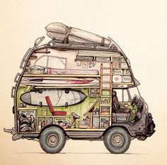 I would love this for a camper stick my bikes in it and drive the world