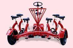 Multi seat bike