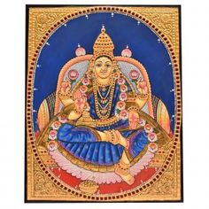 Ganesha Pictures, Tanjore Painting, Foot Prints, Mural Ideas, Acrylic Sheets, God Pictures, Online Painting, Art Online, Indian Art