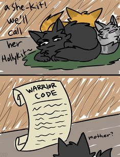 Pin by o n h i a t u s on warrior cats funny Warrior Cats Funny, Warrior Cats Comics, Warrior Cat Memes, Warrior Cats Series, Warrior Cats Books, Warrior Cat Drawings, Warrior Cats Fan Art, Cat Comics, Warrior Cats Clans