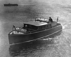 Classic Chris Craft wood boats ... similar to what Ernest Hemmingway lived on!