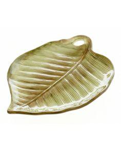 Las Palmas Leaf Shaped Tray product photo Main View T360x450