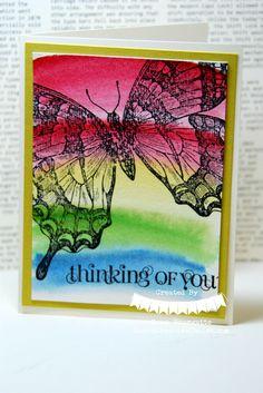 Swallowtail Butterfly Dawn Bourgette Stampin Up Creative Coach http://www.dawnscreativechalet.com