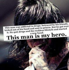 This is why I admire Ronnie Radke. He is truly a hero and a inspiration. He inspires me to believe I can do anything no matter how bad. He inspires me to keep writing music and I repay him by listening and enjoying his music. Thank you so much Ronnie! I love you so much!!❤️❤️❤️