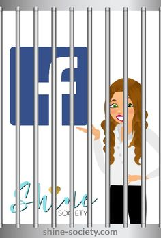 """Me... in """"Facebook Jail??"""" No way.... YES way! For the 1st (and 2nd) time EVER this past week during the Willing Beauty Pre-Launch. I think I may need to take my own advice. Learn more about how to avoid Facebook Jail on my latest blog post..."""