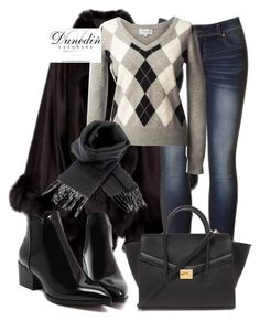 """""""Dunedin Cashmere"""" by deedee-pekarik ❤ liked on Polyvore featuring Forever 21 and dunedincashmere"""
