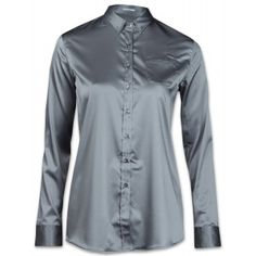 Robert Friedman Alices Damen Bluse grau