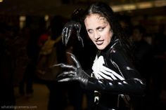 #Cosplay #Spiders: #Rule63 #Venom by Mad Maven
