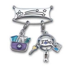 Charm Holder Pin #09868 $6.00 (charms not included)