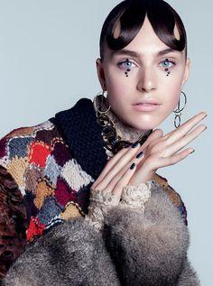 Hedvig Palm | Harper's Bazaar Ucrânia Dezembro 2016 | Editoriais - Revistas de Moda